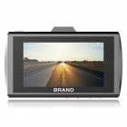 "M11 NT96650+ SONY322 HD 1080P 3.0"" Car DVR - Black"