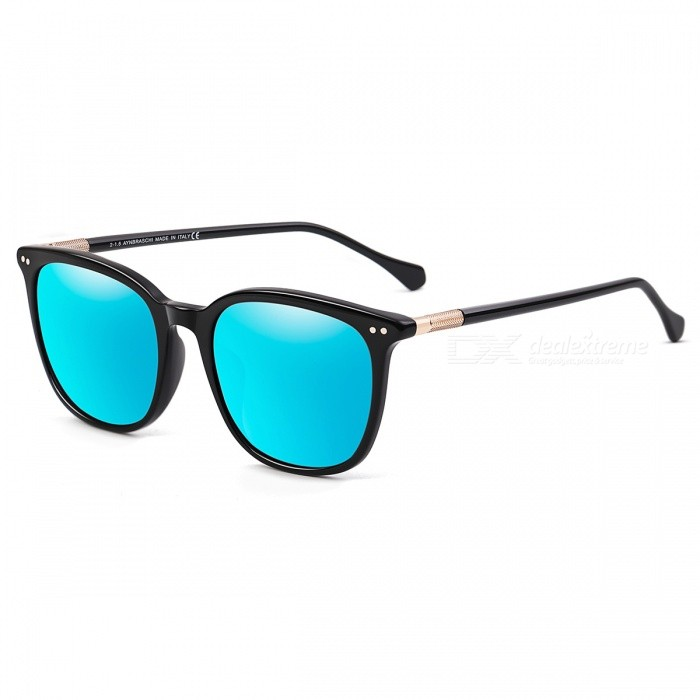 MOBIKE-3689G-Unisex-UV400-Protection-Sunglasses-Black-Blue-REVO