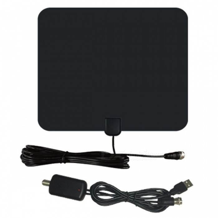 Buy Ultrafire CJH-158B TV HDTV Antenna - Black with Litecoins with Free Shipping on Gipsybee.com
