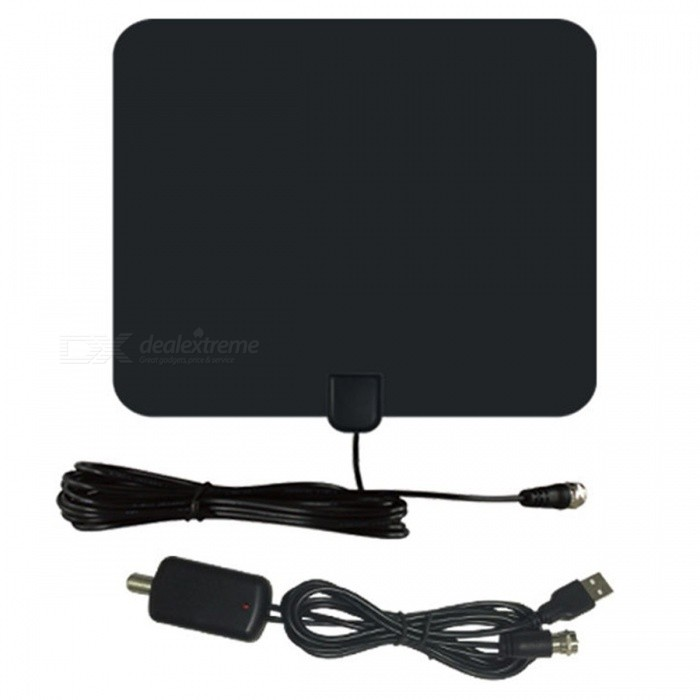 Buy Ultrafire cjh-118a TV HDTV Antenna - Black with Litecoins with Free Shipping on Gipsybee.com
