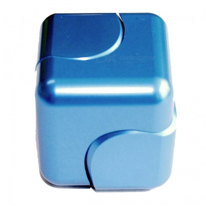 OJADE-Rubiks-Cube-Shape-Hand-Spinner-EDC-Toy-for-ADHD-Blue