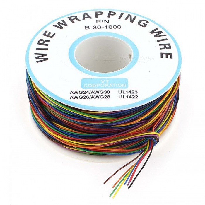 Tinned Koppar Wire Förpackningstestkabel - Multicolor