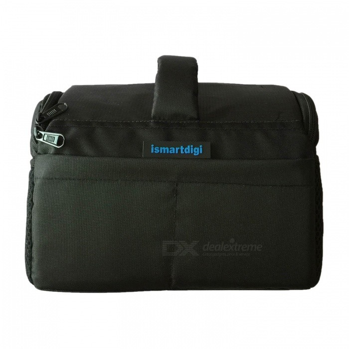 Buy Ismartdigi i-111 Black Universal Camera Bag for All DSLR DV Cameras with Litecoins with Free Shipping on Gipsybee.com
