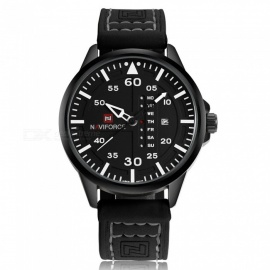 NaviForce-NF9074-Mens-Sports-Leather-Wrist-Quartz-Watch