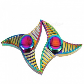 OJADE-Colorful-Hand-Spinner-Fidget-Relief-Fingertip-Gyro-Toys-(2-PCS)