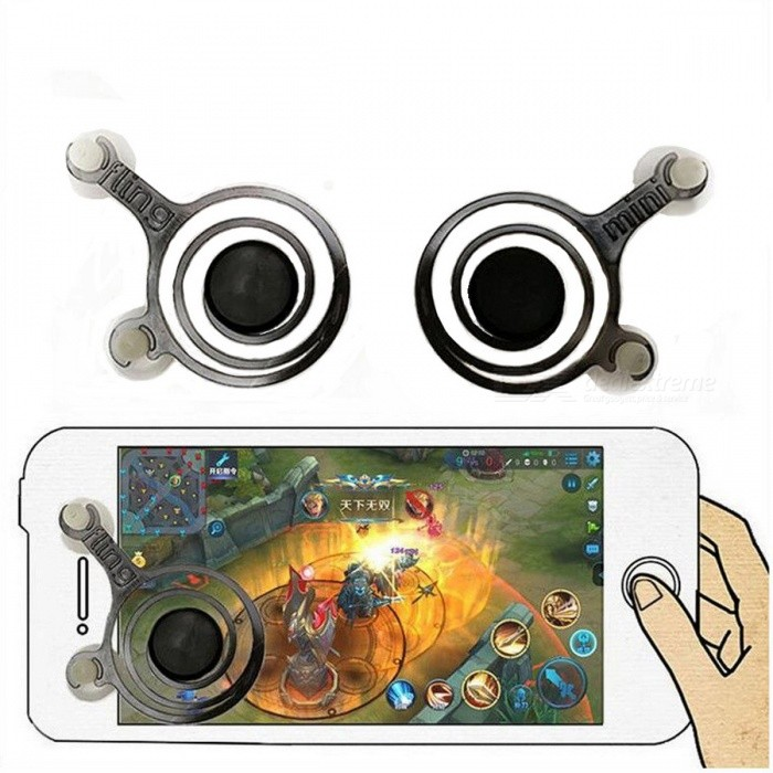 kitbon mobile game joystick game controller for phone pad 1 pair