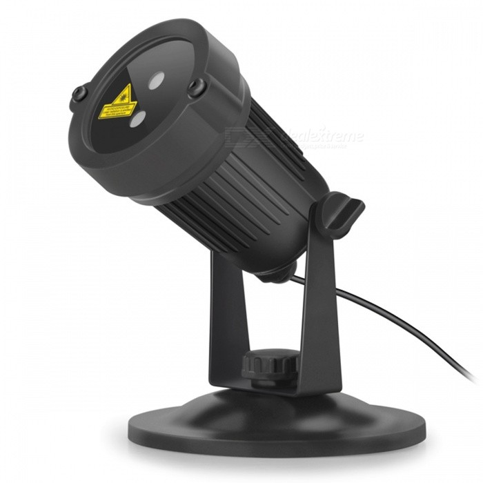 Blinblin San 3 IP65 Outdoor Pieni Laser Lawn Light - Musta
