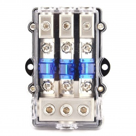 IZTOSS-F1597-Three-way-Fuse-Holder-with-Insurance-Chip-(Blue-60A)