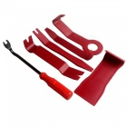 ZIQIAO 6Pcs Bilradio Dörrklippspanel Trim Dash Audio Removal Pry Tool