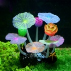 Saim-Aquarium-Decorative-Silicone-Fluorescent-Lotus