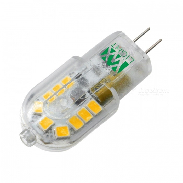YWXLight G4 3W 18LED 2800-3500K Dimmable LED bi-Pin luces cálido blanco