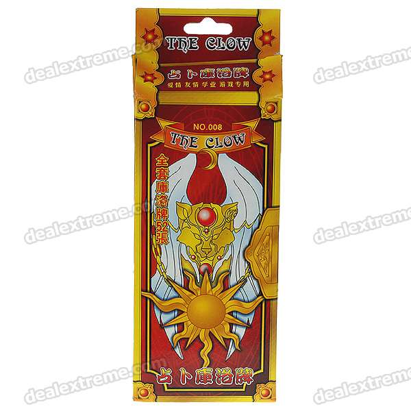 The Clow Tarot Anime Sakura Kinomoto Card Captor (52-Piece/Set)
