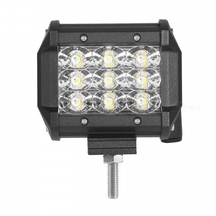 "MZ 4"" Tri-Row 27W 2700LM  Flood LED Work Light for Off-road SUV"