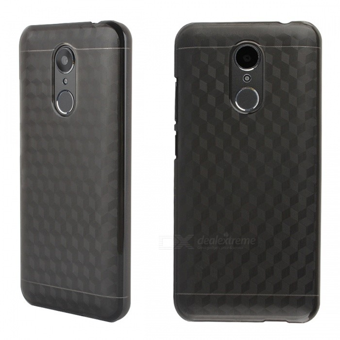"""OCUBE Protective Hard PC Case for HOMTOM HT37 5.0"""" - Translucent Grey"""