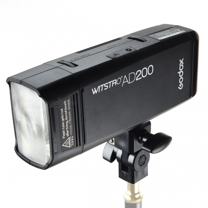 GODOX AD200 200W Pocket Flash Light with TTL, 2.4G HSS 1/8000s