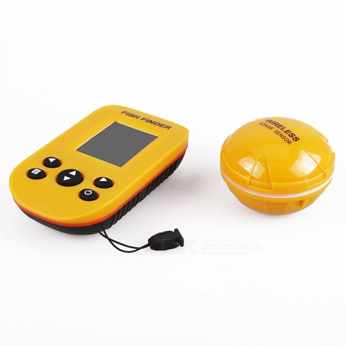 Wireless Portable Fish Depth Finder mit Sonar Sensor Transducer