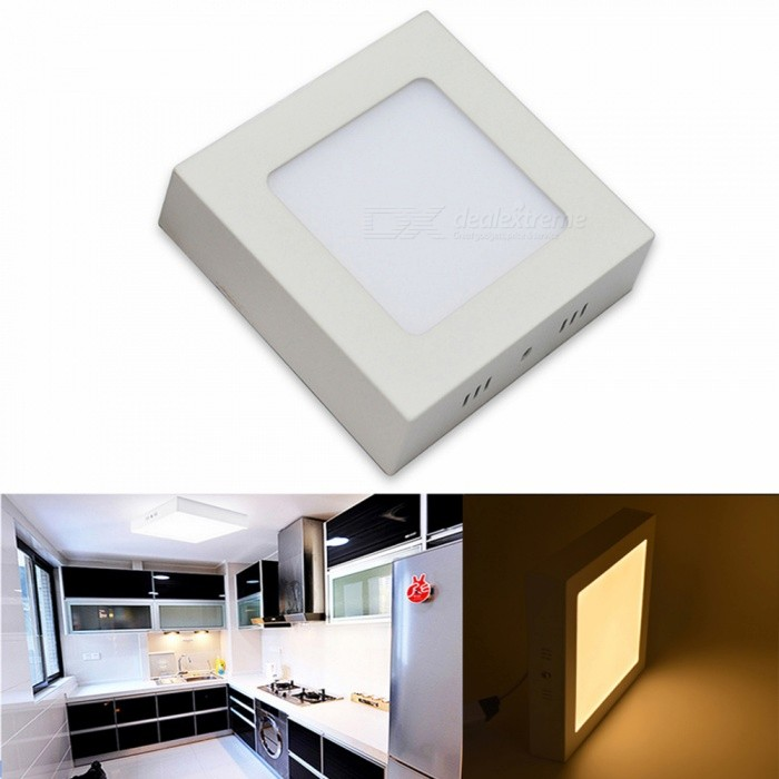 JIAWEN 6W Warm White/cold white  Surface Mounted LED Ceiling Light Panel Lamp