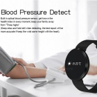 0.96 inches Bluetooth Smart Armband med Health Track - Svart