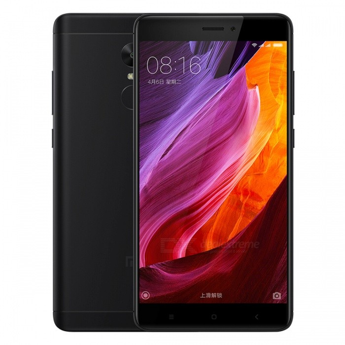 "Xiaomi Redmi Note 4X 5.5"" Dual SIM Phone with 4GB RAM 64GB ROM - Black"