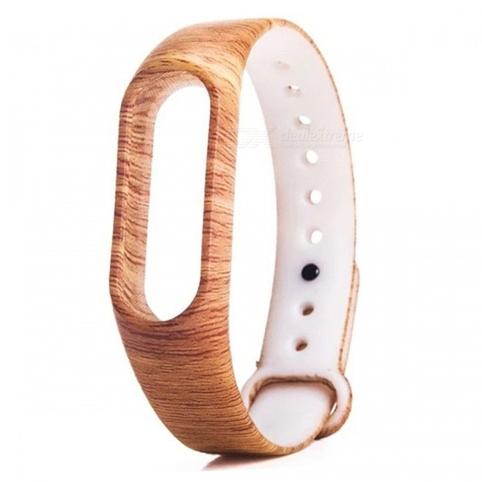 Wood Grain Pattern Replacement TPU Wrist Band for Xiaomi MI Band 2Wearable Device Accessories<br>Form  ColorWood GrainQuantity1 pieceMaterialTPUPacking List1 x Wristband<br>