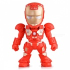 ZHAOYAO Iron Man LED Robot Bluetooth-kaiutin, Mini Wireless Subwoofer