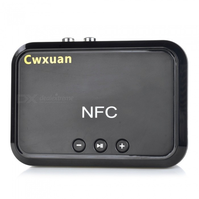 Cwxuan Bluetooth Audio Receiver Amplifier Box Adapter - BlackOther Bluetooth Devices<br>Form  ColorBlackMaterialABSQuantity1 setShade Of ColorBlackBluetooth VersionOthers,Bluetooth V4.1Operating Range10mApplicable ProductsIPHONE 5,IPHONE 4,IPHONE 4S,IPHONE 3G,IPHONE 3GS,IPOD,IPAD,Universal,Tablet PC,IPHONE 5S,IPHONE 5CPower AdapterUSBPacking List1 x Bluetooth receiver1 x USB cable (80cm)1 x Chinese / English user manual1 x 3.5mm to RCA adapter cable (140cm)1 x 3.5mm male to male audio cable (140cm)<br>