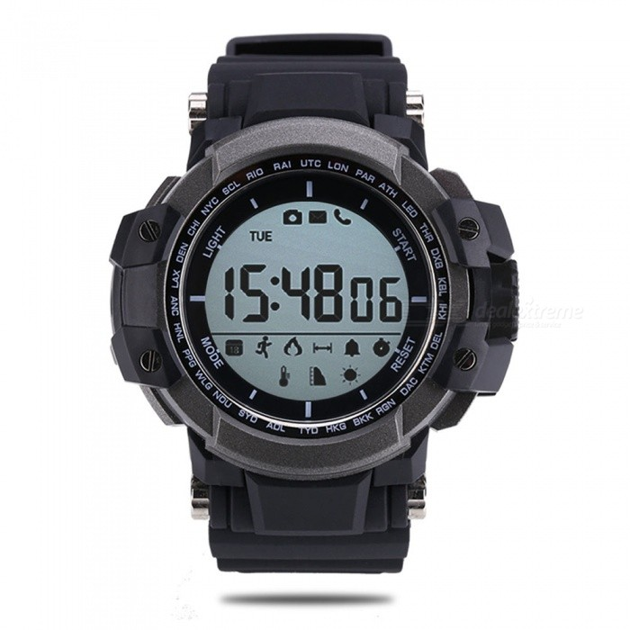 Zeblaze MUSCLE Vandring 5ATM Vanntett Smart Watch - Svart