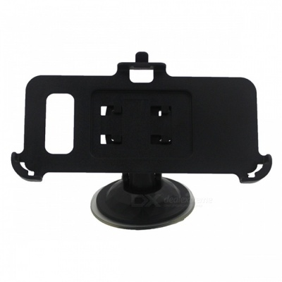 Mini Car Mount Holder with Back Clip for Samsung Galaxy S8 - Black
