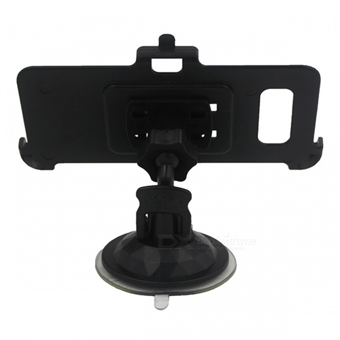 Mini Car Mount Holder with Back Clip for Samsung Galaxy S8 plus -Black