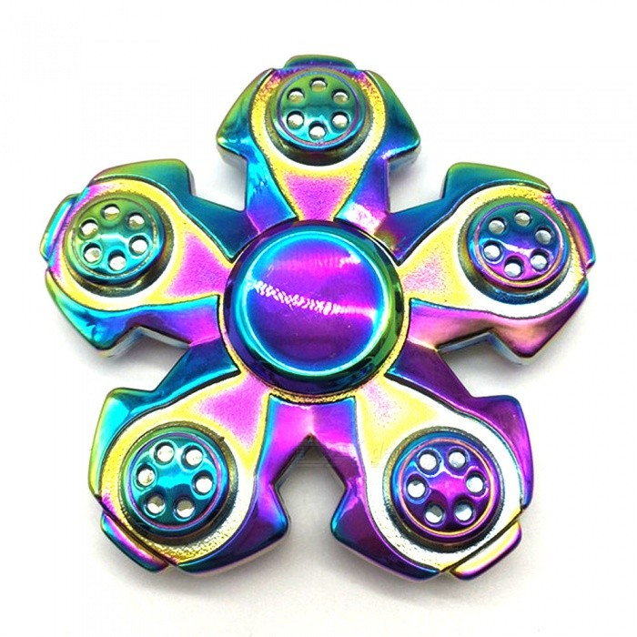 Buy Mr.northjoe 5-Side Spinner Fidget Toy EDC Hand Spinner - Colorful with Litecoins with Free Shipping on Gipsybee.com