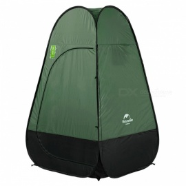 NatureHike-Foldable-Tilted-Clothes-Changing-Bathing-Tent-Dark-Green