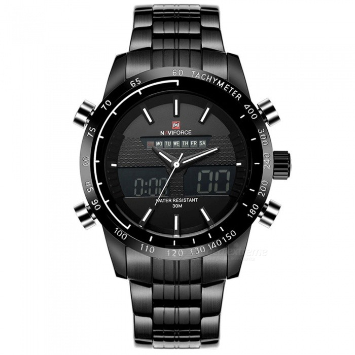 NaviForce 9024 Men's Sports Metal Wrist Quartz Watch