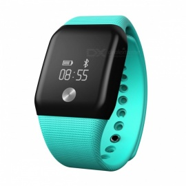 0.66 inches Touch Smart Bracelet Watch with Health Tracker - Green