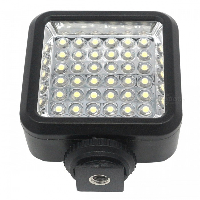 Buy W36 4W 36-LED Video Camera Light for Canon, Nikon - Black with Litecoins with Free Shipping on Gipsybee.com