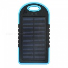 ZHAOYAO-Portable-5000mAh-Solar-Power-Bank-with-Dual-USB-Ports-Blue