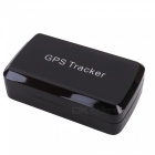 Mini Car GPS Tracker with 6000mAh Battery, Real Time Tracking - Black