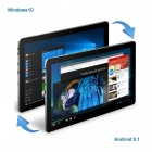 CHUWI Hi10 Plus Windows 10, Android 5.1 Dual Boot Tablet PC, US Plugs