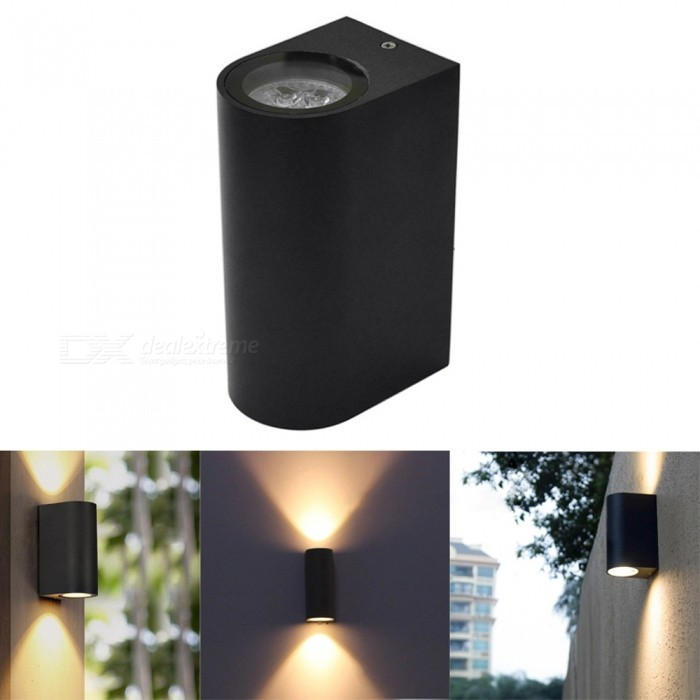 Buy Jiawen Outdoor 8W LED Wall Lamp Courtyard Garden Porch Lighting with Litecoins with Free Shipping on Gipsybee.com