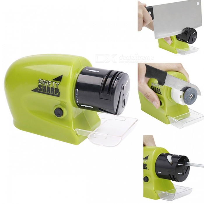 Buy BSTUO Kitchen Tool Swift Sharp Motorized Electric Knife Sharpener with Litecoins with Free Shipping on Gipsybee.com