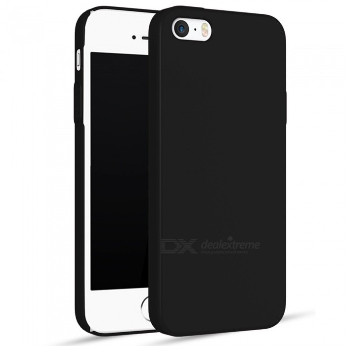 Naxtop PC Hard Protective Back Case for IPHONE SE, 5S. 5C, 5 - Black