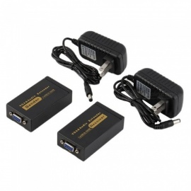 100m-328ft-VGA-Video-Audio-Extender-Black