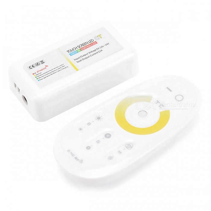 BRG-24G-Wireless-Touch-Controller-for-LED-Lightings-Dimmer-Controller