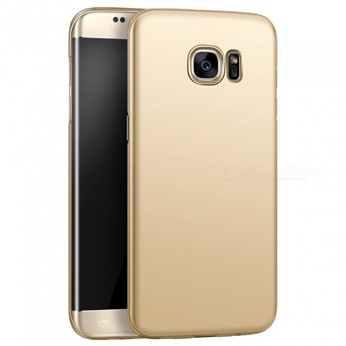 huge selection of 9b0f7 a6395 Naxtop PC Hard Protective Back Case for Samsung Galaxy S7 Edge -Golden