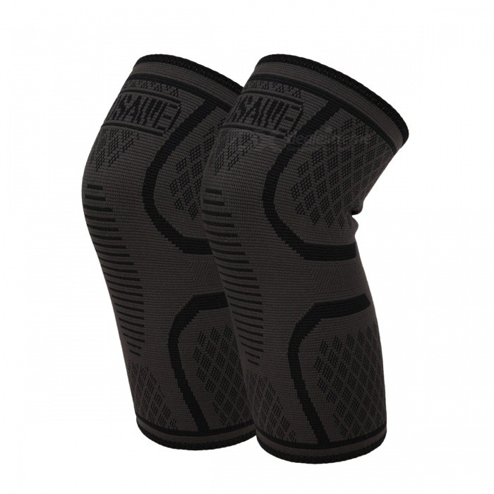 WOSAWE BC303 Sports Knee Guard Pads - Black (1 Piece)Knee Pads<br>Form  ColorBlackModelBC303Quantity1 pieceMaterial55% polyester, 35% rubber,10% spandexSizeOthersPacking List1 x Knee Guard Pad<br>