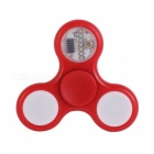 ZHAOYAO LED Licht Finger Spinner Top Spinner Spielzeug - Rot