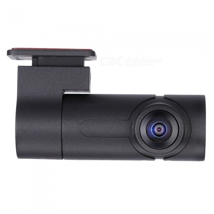 Portable Mini Single Lens 360 Degree Wi-Fi Car DVR Camera - BlackCar DVRs<br>Form  ColorBlackModelK7Quantity1 pieceMaterialPlasticChipsetAmbarellaScreen SizeNoOther FeaturesWi-FiScreen Resolution:1920 x 1080 dpiCamera Pixel3-4.9MP pixelsVideo Resolution1920 x 1080 pixelsWide Angle190°-270°Camera Lens1Image SensorOthers,H264Image Sensor Size1/2.7 inchesCamera Pixel3.0MPExternal Camera Pixel3.0MPWide Angle270°Optical Zoom2XVideo FormatMP4Decode FormatH.264Video OutputPALVideo Resolution1280 x 960,1080FHD(1920 x 1080)Video Frame Rate30ImagesJPEGStill Image Resolution5M 2592x1944MicrophoneYesAuto-Power OnYesG-sensorYesBuilt-in Memory / RAMNoMax. CapacityOthers,128GBStorage ExpansionTFAV InterfaceOthers,NoData interfaceMicro USBWorking Voltage   5 VBattery Capacity1500 mAhWorking Time2 hoursMenu LanguageEnglishPacking List1 x Camera1 x Car charger1 x Data cable1 x Bracket1 x Manual1 x Button<br>