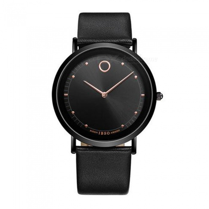 Fashion-Simple-Mens-Quartz-Watch-with-Slim-Leather-Stap-Black
