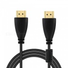 Cwxuan HD 1080p HDMI V1.4 Man till Male Connection Cable - Svart (180cm)