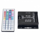 BRG 576W IR  RGBW LED Remote Dimmer Controller - Black