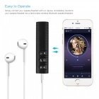 Langaton Bluetooth-vastaanotin, 3,5 mm: n Jack Audio Music Adapter - musta